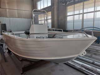 All Welded Aluminum Centre Control Boat